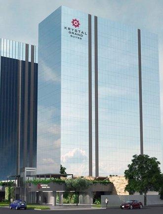 Fachada Krystal Grand Suites Insurgentes Ciudad de México